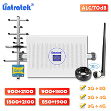 Signal-Booster Dual-Band CDMA Repeater-Pcs Cellular DCS Lintratek 1800 GSM 900 LTE 4g