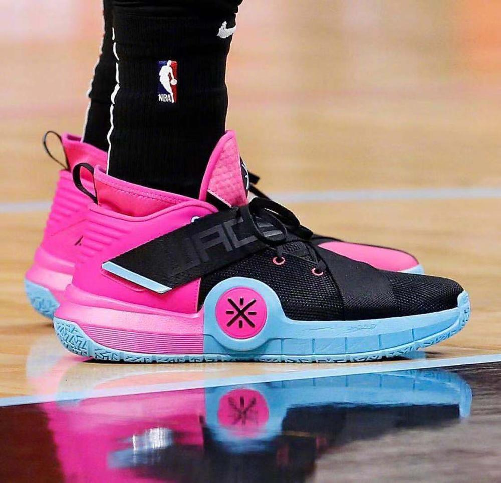 Li-Ning Men Wade ALL CITY 7 Champagne/South Beach/PE Professional Basketball Shoes LiNing CLOUD Sport Sneakers ABAP101 SJAS19 Studio 33 Woke Shoulder Flap