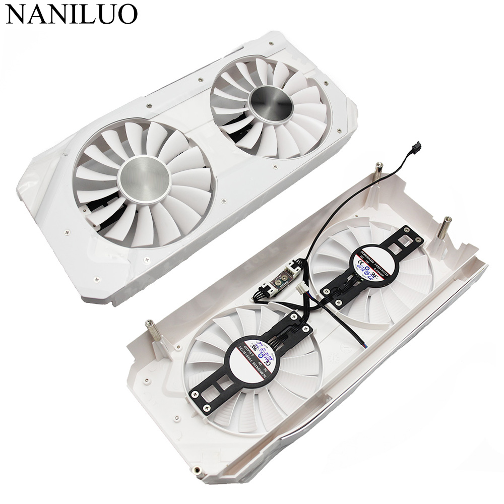 FD9015U12S 0.55A GTX1060 Cooling Fan For EMTek Palit GeForce GTX 1060 6GB HV White Monster Video Card Cooler Fan