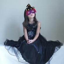 6pcs/pack  LED Halloween Masks Festival Party Half Masks Halloween Kids Mask Witch Costume Mask Supplies стоимость