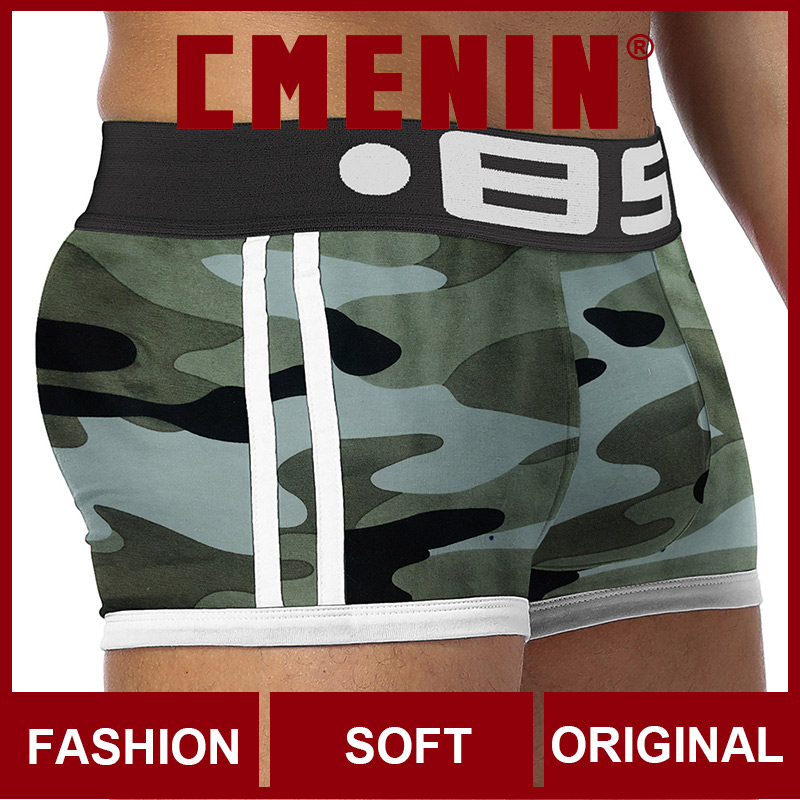 Comfortable Cotton Sexy Men Underwear Boxer Shorts Fashion Long Boxer Mens Boxershorts Underware Boxers Freegun