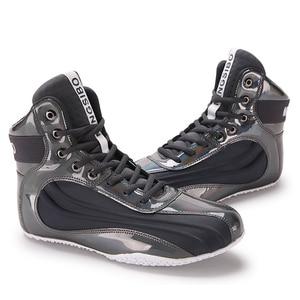 Zapatos de lucha de calidad para hombre, zapatillas ligeras de boxeo, talla 36-45, antideslizantes, para boxeo