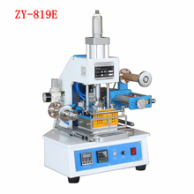 220V ZY-819E Pneumatic Hot Stamping Machine Embossing Safety Design