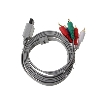 1.8m Component 1080P HDTV AV Audio 5RCA Adapter Cable For Nintendo Wii Console