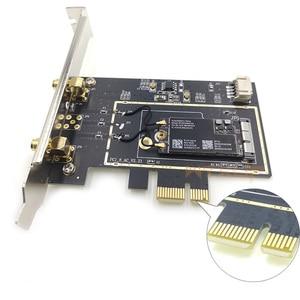 Image 3 - BCM94360CS2เดสก์ท็อปPCIeไร้สายบลูทูธอะแดปเตอร์Dual Band Wifiการ์ด1X 2Pcs 6DBiเสาอากาศสำหรับHackintosh/mac Os