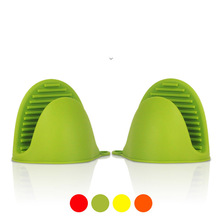 Silicone Gloves Pot-Holder Gripper Kitchen-Baking-Tool Oven Cooking-Microwave Heat-Insulated