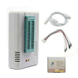 Image 2 - 100% Original más nuevo V10.55 TL866II Plus Universal Minipro programador + 28 adaptadores + Clip de prueba TL866 foto Bios de alta velocidad programador