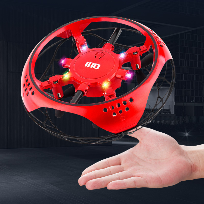 UFO Sensing Suspension Light Remote-controlled Unmanned Vehicle Fly Ball Strange New Children Remote Control Toy Plane