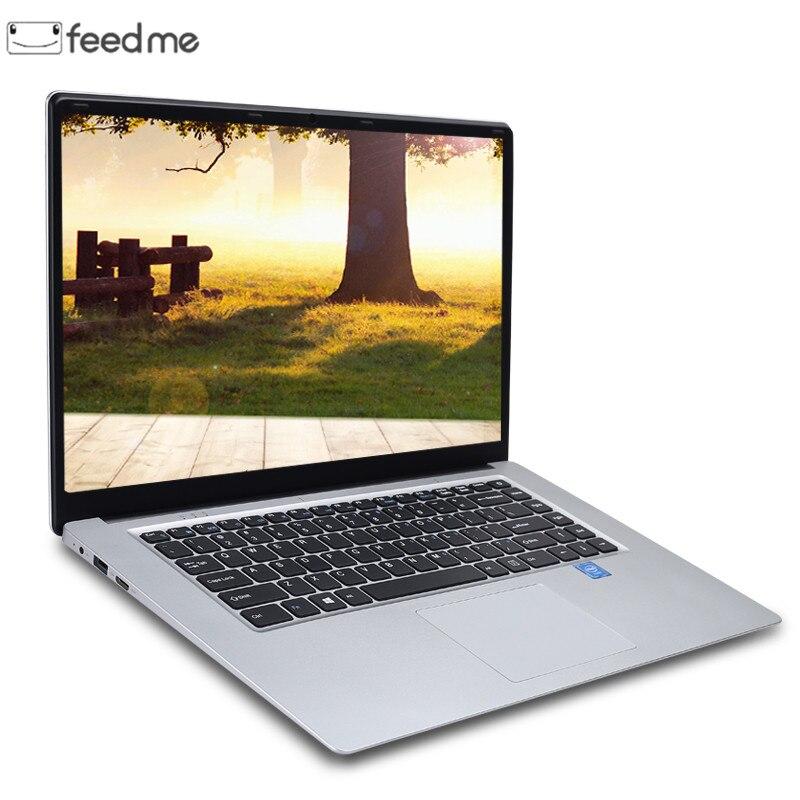 15.6 pouces 8GB RAM DDR4 256 GB/512 GB SSD ordinateur portable intel J3455 Quad Core ordinateurs portables avec écran FHD Ultrabook ordinateur étudiant