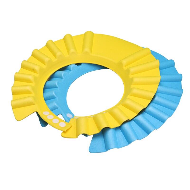 Safe Shower Bathing Bath Protect Soft Cap Hat For Baby Wash Hair Shield S Children Bathing Shower Cap Hat Kids Bath Water Baby