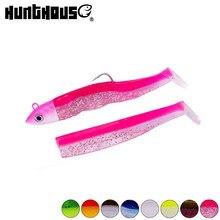 Hunthouse-Plantilla de señuelo de pesca, señuelo de cabeza suave, sábalo, 25g, 40g, 60g, 90g, 120g, cebo delineador fácil