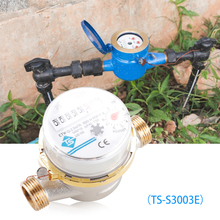 Pointer-Flow-Measuring-Tool Rotary-Counter Cold-Water-Meter Water-360 Mechanical Adjustable