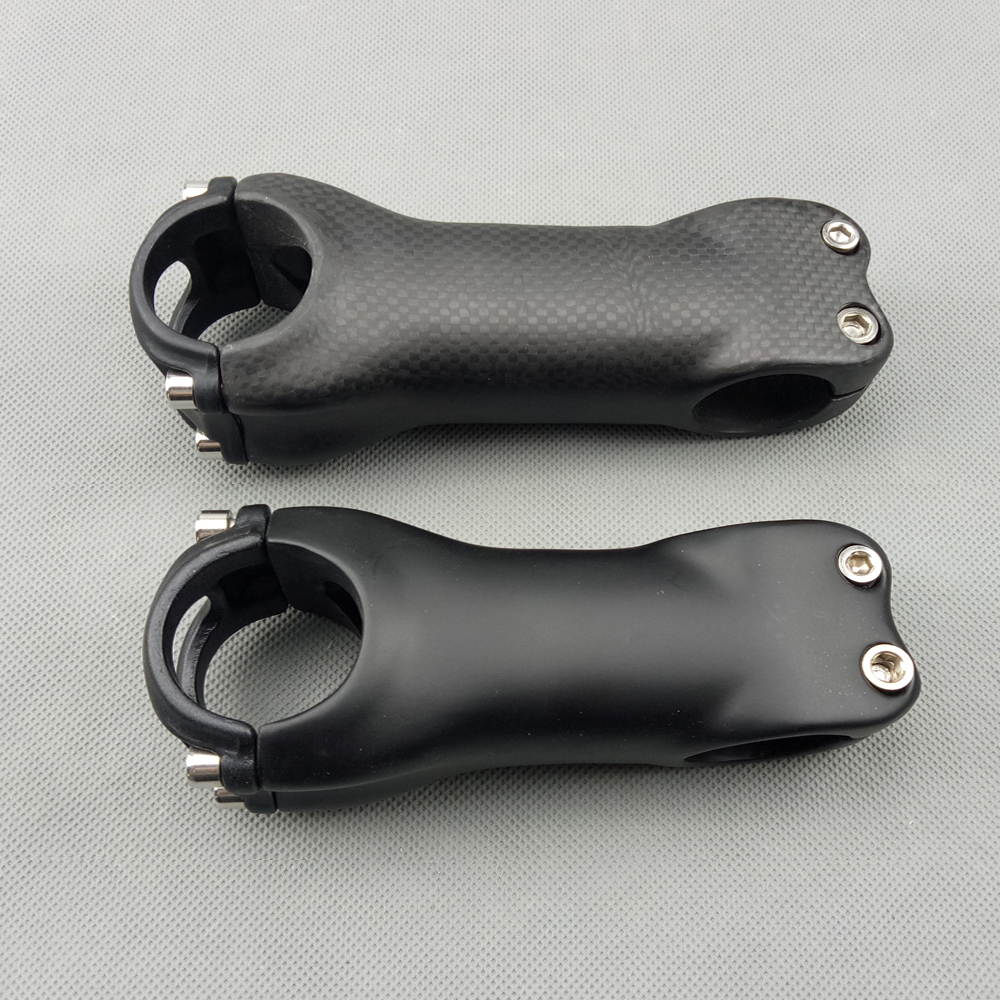 Full <font><b>Carbon</b></font> <font><b>Stem</b></font> 3K/UD Matte 31.8*70/80/90/100/110/120mm Mountain <font><b>Bike</b></font> Parts <font><b>Road</b></font> Bicycle MTB <font><b>Handlebar</b></font> <font><b>Stem</b></font> Ultra light image