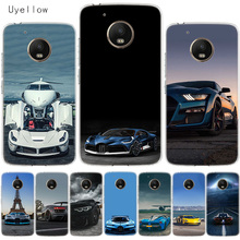 Uyellow Cool Sports Car Design Cover For Motorola G4 G5 G5S G6 G7 E4 E5 Plus Play Phone Case Moto Power Silicone Coque