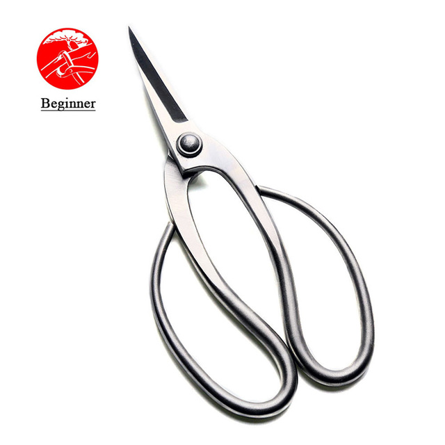 190 mm root pruning scissors standard quality level 3Cr13 Stainless Steel bonsai tools made by TianBonsai company