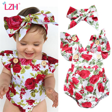 Baby Girls Clothes Summer Outfits 0-24M Cute Floral