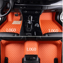Floor-Mat Car-Accessories Fiat500 Bravo Customization All-Models Luxury Suitable-For