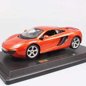 1/24 scale bburago star collection Mclaren MP4 12C M838T super sports model Diecasts & Vehicles miniatures car toys for children(China)