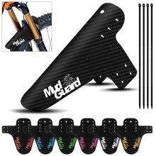 1 ensemble VTT garde-boue coloré avant arrière garde-boue économiseur garde-boue ailes accessoires de cyclisme pièces de protection de vélo de route