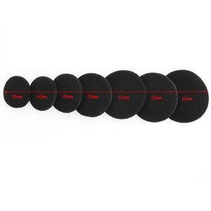Image 3 - Sifree 스폰지 커버 35mm 40mm 45mm 50mm 55mm 60mm 65mm 헤드폰 교체 폼 패드 이어 패드 스폰지 드롭 배송