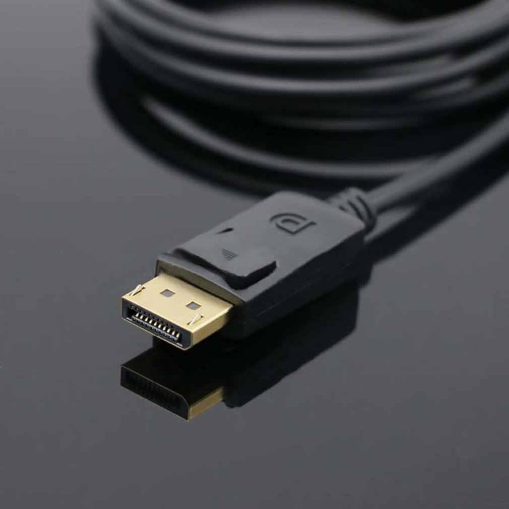 Super largo 1,8 metros PUERTO DE PANTALLA DP macho a HDMI Cable adaptador convertidor Cable 4K ordenador portátil HD TV Convertidor
