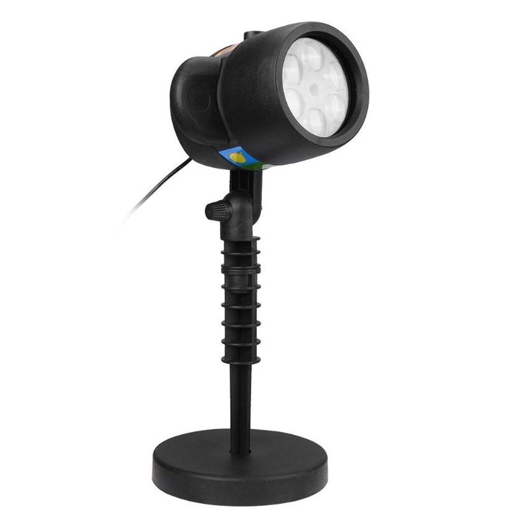 ICOCO 12 слайдов 7 светодиодный лазерный проектор светильник зарядка через usb Рождество 15 лм сценический светильник Хэллоуин Праздник на