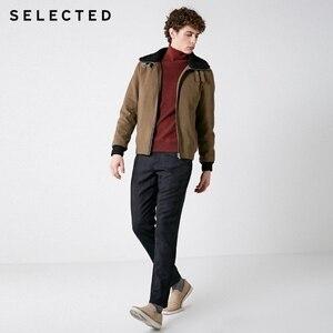 Image 2 - SELECTED Winter Slim Fit Plaid Pants S
