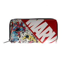 Marvel Letter Zip Around Wallet Large Capacity Wallets Female Purse Lady Purses Phone Pocket Card Holder DFT1887(China)