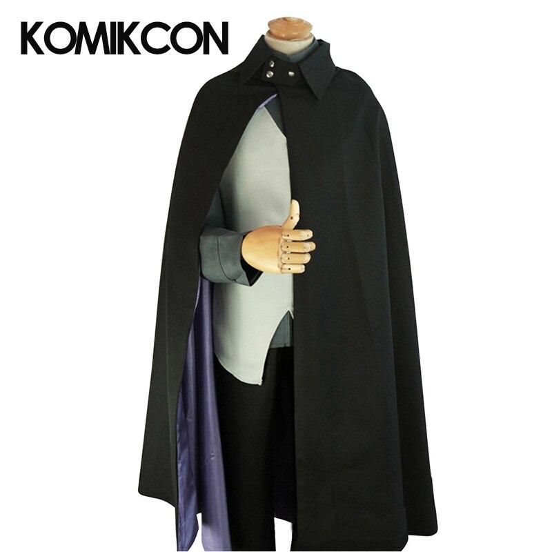 Japanese Anime Boruto Uchiha Sasuke Cosplay Costume Narutoo Uniform Tops Pants Vest Cloak Full Set Halloween Party Suits