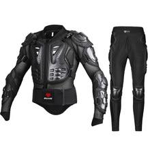 Chaqueta de motocicleta genuina, Protector de armadura de carreras, ATV, Motocross, Protección corporal, ropa, equipo de protección, máscara de regalo
