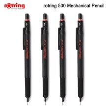 Механический пластиковый карандаш Rotring 500 0,5 мм/0,7 мм, металлический держатель для ручки, автоматическая ручка для карандаша, 1 шт.
