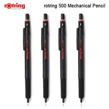 Rotring 500 0.5 millimetri/0.7 millimetri matita meccanica matita penna di plastica del supporto Del Metallo zigrinatura grip matita automatica 1 pezzo