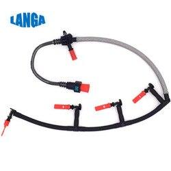 Przewód giętki przewodu powrotnego paliwa wtryskiwacz oleju napędowego przewód wycieku węża OE: 1761934 dla Ford Transit