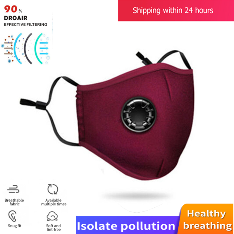 Washable PM2.5 Mask Reusable Cover Respirator Anti-Dust Mask Filter Protective Mask PK KN95 N95 Mask+filter PK Ffp3 Fpp3
