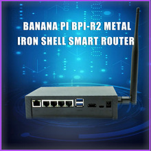 Router Banana Pi Bpi R2 7623 Case Opensource Power with 5V 2A DC for
