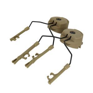 Image 4 - Taktyczna wojskowa Peltor kask zestaw adapterów zestaw słuchawkowy i szybki Ops Core kask rail adapter akcesoria do zestawu słuchawkowego