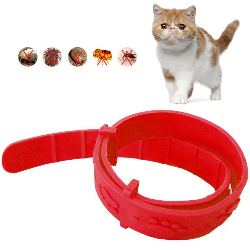 고양이 안티 벼룩 구충제 곤충 제어 칼라 새끼 고양이 구제 목 스트랩 애완 동물 칼라 야외 조절 새끼 고양이 애완 동물 고리