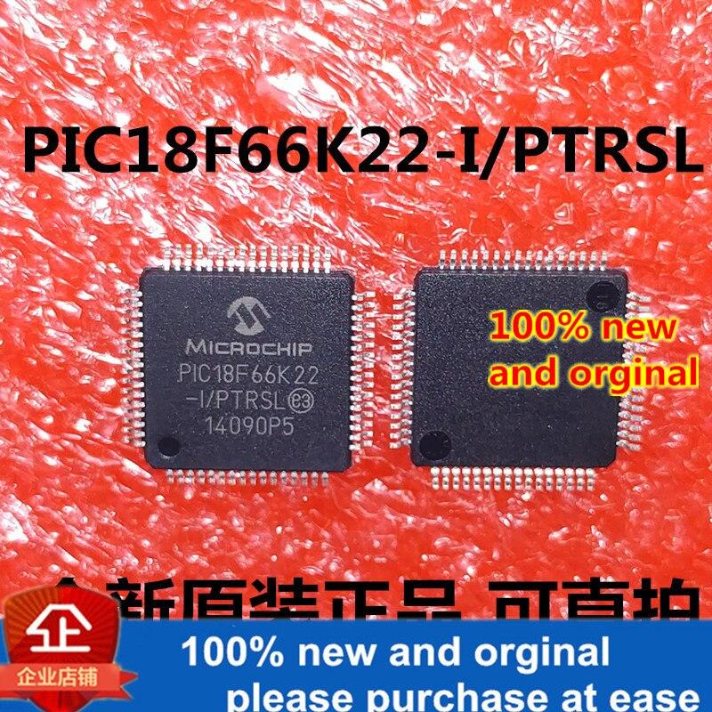 1pcs 100% New And Orginal PIC18F66K22-I/PTRSL PIC18F66K22 QFP64 In Stock