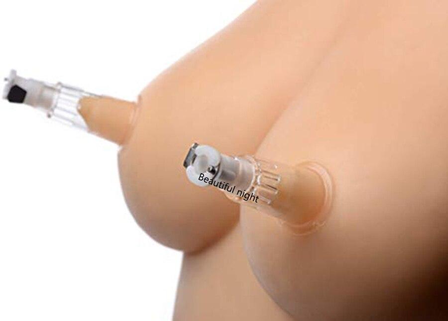 2PCS Nipple Sucker Breast Masturbator Enlarger ,Nipples Stimulation Pussy Suction Vacuum Pump, Sex Toys For Women