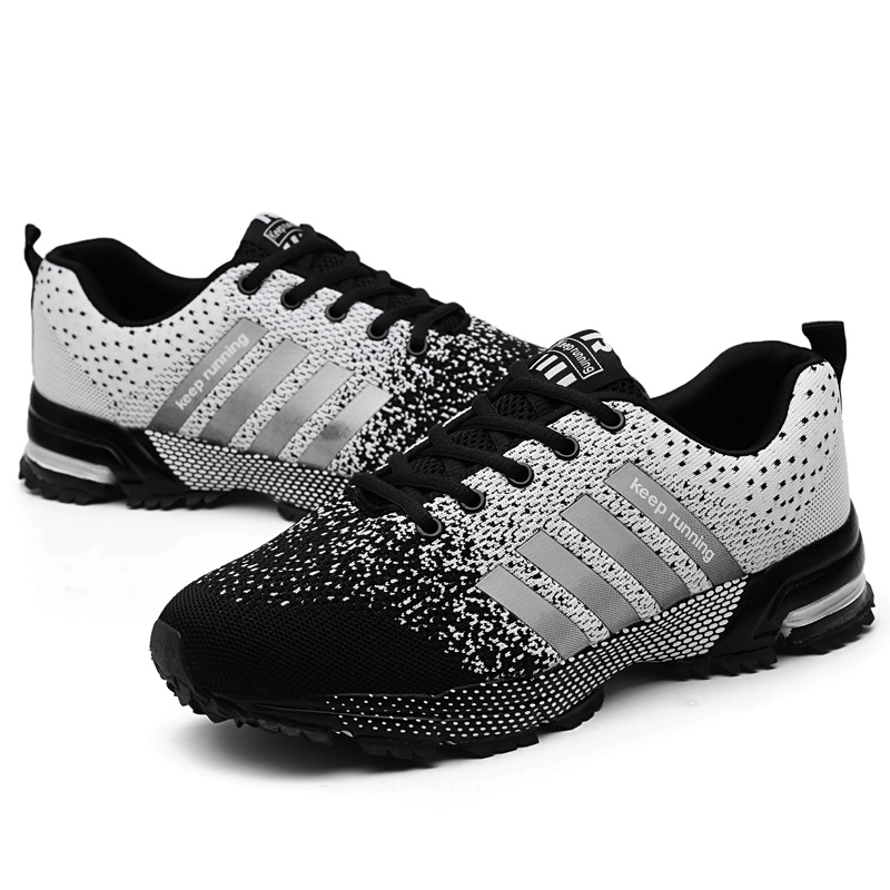 MARSON Men Shoes Casual Men 39 s Sneakers Mesh Breathable 2019 New Fashions Sneakers Comfortable No Slip Big Size Male Canvas Shoes in Men 39 s Casual Shoes from Shoes