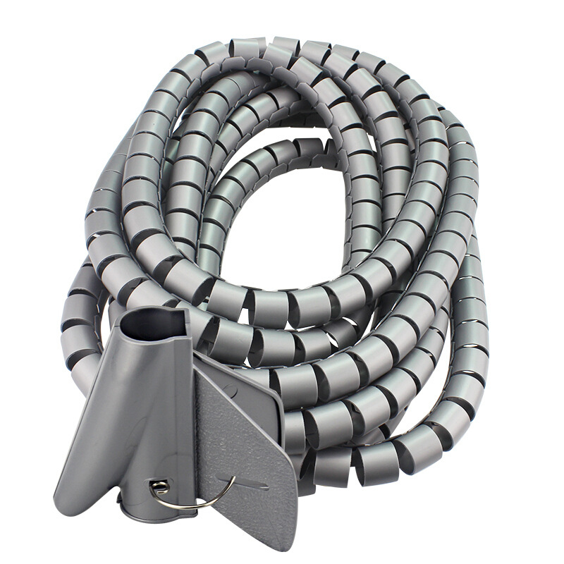 Wire Wrap Cable Winder Cord Protector Storage Pipe Cable Organizer Management