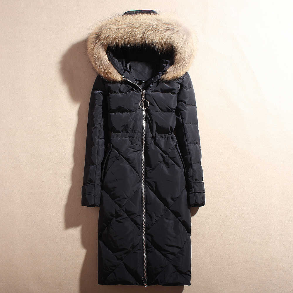 Plus Ukuran 6XL Musim Dingin Bebek Putih Wanita Down Mantel Korea Puffer Jaket Hangat Jaket 1002 YY1547