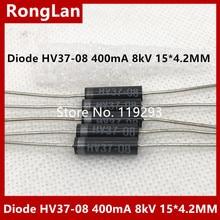 [BELLA] de alta tensão diodo HV37 08 pilha de silício de alta tensão 400mA 8kV 15X4.2MM    50 pçs/lote