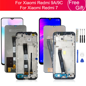 For Xiaomi Redmi 9a/9C LCD Display Touch Screen Digitizer Assembly With Frame For Redmi 7 lcd Display Replacement Repair parts
