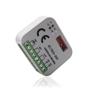 Image 5 - Uzaktan kumanda anahtarı alıcısı 433MHz 868MHz 300 315 318 390 MHz alıcı AC/DC 9 30V 300 900MHz garaj kapısı alıcısı