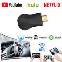 HDMI WiFi Display Dongle YouTube Netflix AirPlay Miracast TV-Stick für Google Chrome 2 3 Chrom Crome Cast Cromecast 2