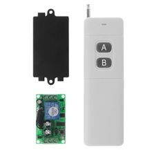 2019 New 3000m Long Range DC 12V 2CH RF Wireless Remote Control Switch System 315 Mhz 2 Key Transmitter + Receiver