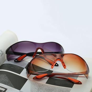 Okulary rowerowe Unisex wiatroszczelne okulary gogle anty-uv rowerowe okulary przeciwsłoneczne okulary na motocykl spawanie elektryczne okulary okulary tanie i dobre opinie CN (pochodzenie) Anti UV 45mm 311619 Black 70mm Z tworzywa sztucznego