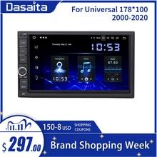 Dasaita Radio Universal con Android para coche, Radio con 2 Din, pantalla IPS de 7 pulgadas, Android 10,0, estéreo, navegación Multimedia para Nissan, DSP incorporado