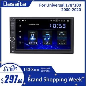 Image 1 - Dasaita Radio Universal con Android para coche, Radio con 2 Din, pantalla IPS de 7 pulgadas, Android 10,0, estéreo, navegación Multimedia para Nissan, DSP incorporado